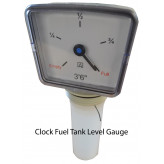 Clock Tank Level Gauge
