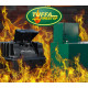 Tuffa 2440 Litre Fire Protected Bunded Oil Tank