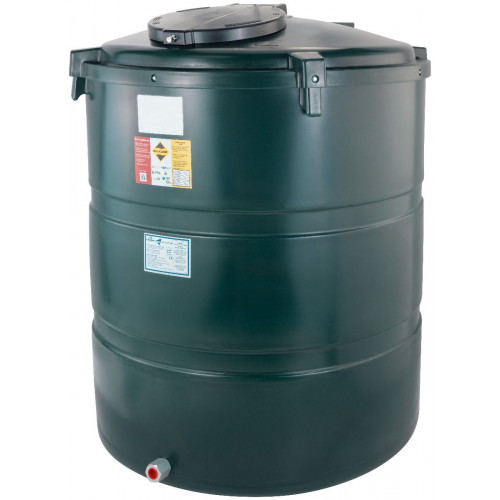 1230 Litre Vertical Bunded Oil Tank