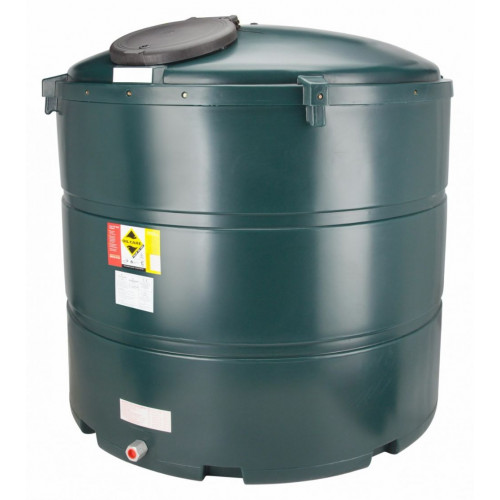 2455 Litre Vertical Bunded Oil Tank