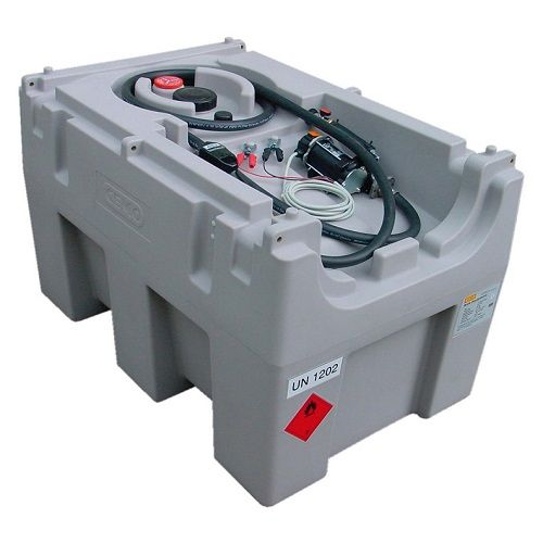 Cemo DT-Mobile Easy 430 Litre Diesel Fuel Dispenser with 24v Electric Pump